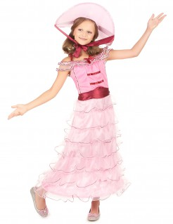 Edles Scarlett Kinderkostüm rosa