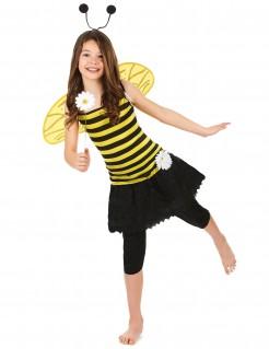 Knuffiges Bienchen Kinderkostüm gelb-schwarz