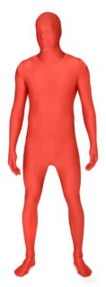 Morphsuit Ganzkörperanzug Kostüm rot