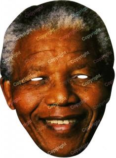 Nelson-Mandela-Maske hautfarben