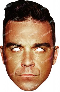 Maske Robbie Williams