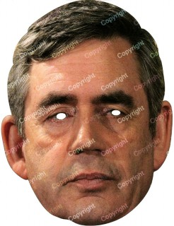 Gordon Brown Pappmaske