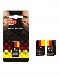 Deutschland Make-Up Länder-Fanschminke schwarz-rot-gelb 3,9g