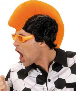Fußball Perücke Niederlande orange