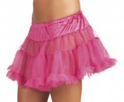 Schicker Tüll-Petticoat Unterrock pink
