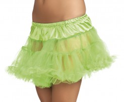 Schicker Tüll-Petticoat Unterrock grün