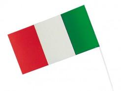 Fahne Italien Fussball Fanartikel rot-weiss-grün 12x23cm
