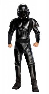 Shadow Trooper™-Kostüm Star Wars™-Lizenzkostüm schwarz