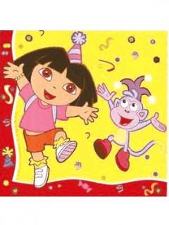 Dora™ Partyservietten 20 Stücl Lizenzware 33x33cm