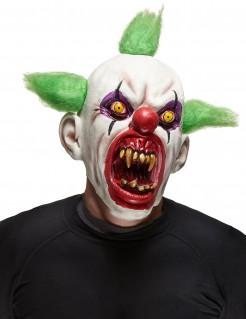 Halloween Clown Maske bunt