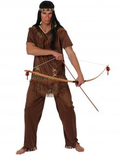 Indianer-Kostüm für Herren braun