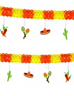 Mexiko-Girlande Party-Deko bunt 4m