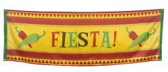Mexiko-Partybanner Fiesta gelb-rot-grün 220x74cm