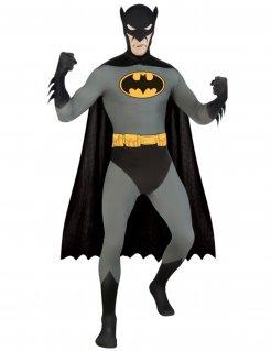 Batman Second-Skin-Suit Lizenzware schwarz-grau-gelb