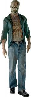 The Walking Dead™ Verwester Zombie Halloweenkostüm für Herren Lizenzware bunt