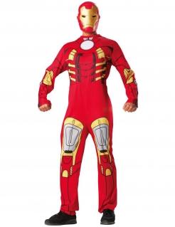 Iron-Man-Kostüm Marvel-Lizenzartikel Superheldenkostüm rot-gelb-grau