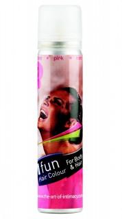 Farbspray für Haare und Körper Haarspray pink 75ml