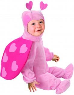 Süsser Marienkäfer Babykostüm rosa-pink