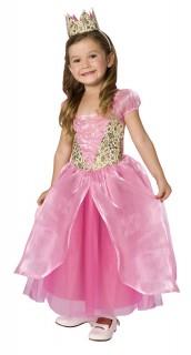 Süße Prinzessin Kinderkostüm rosa-gold
