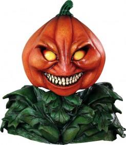 Schaurige Kürbismaske Halloween-Accessoire