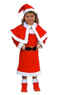 Weihnachtskostüm für Kinder rot-weiß