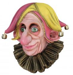 Hofnarr-Maske für Erwachsene Halloween