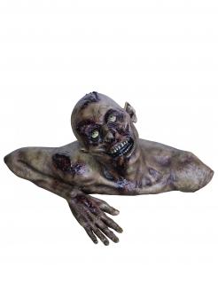 Groundbreaker Zombie Halloween-Deko grau-lila 66x30cm
