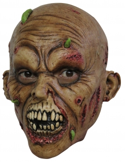 Zombie Maske für TeensHalloween Kostümaccessoire braun-rot