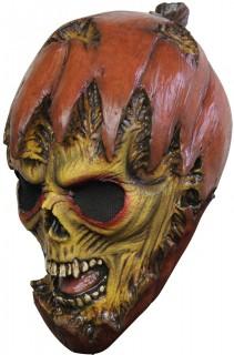 Monströse Kürbismaske für Erwachsene Halloween