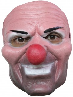 Horror-Clown Maske für Erwachsene Halloween