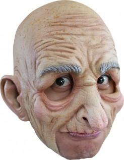 Opa Maske Alter Mann Accessoire hautfarben