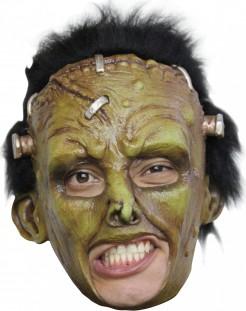 Frankenmonster Maske Labor grün