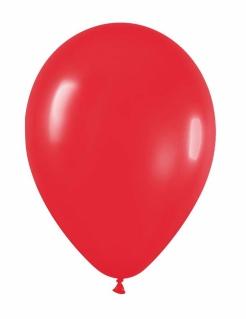 Party-Luftballons Party-Deko 24 Stück rot 25cm