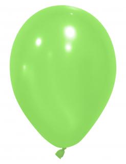 Party-Luftballons Party-Deko 24 Stück grün 25cm