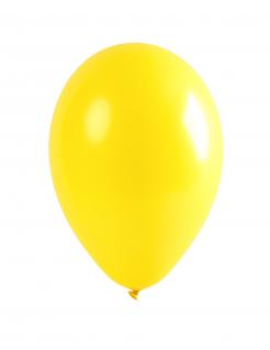 Party-Luftballons Party-Deko 12 Stück gelb 28cm