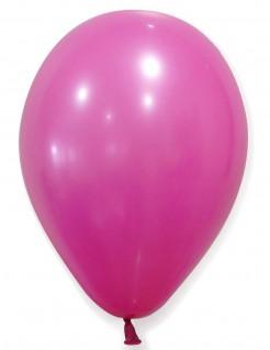 Party-Luftballons Party-Deko 12 Stück fuchsia 28cm