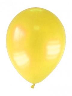 Party Zubehör Deko Luftballons 12 Stück gelb 28 cm