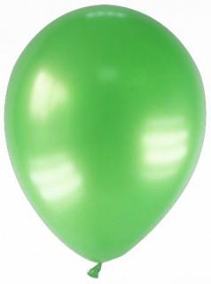 Party Zubehör Deko Luftballons 12 Stück grün 28cm