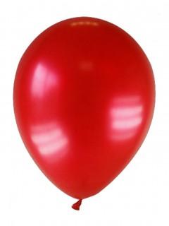 Party Zubehör Deko Luftballons 12 Stück dunkelrot 28 cm