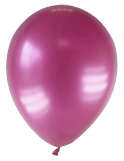 Party Zubehör Deko Luftballons 12 Stück pink 28 cm