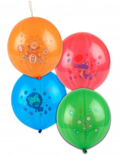 Party Spiel Punching Luftballons bunt 52 cm