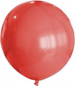 Riesen Party Dekoration XXL Luftballon rot 80 cm