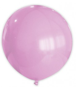 Riesen Party Dekoration XXL Luftballon rosa 80 cm