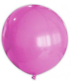 Riesen Party Dekoration XXL Luftballon pink 80 cm