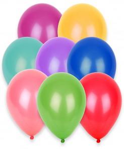 Luftballons Set 100 Stück bunt 27cm