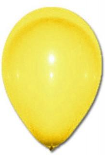 Luftballon Party-Deko 100 Stück gelb 30cm