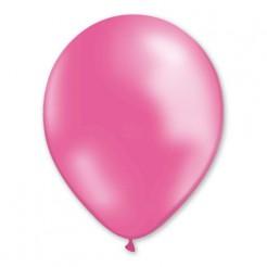 Metallic Luftballons Ballons Party-Deko 100 Stück rosa 30cm