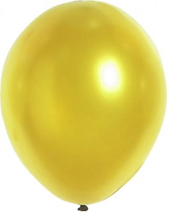 Silvester Party Dekoration Luftballons 100 Stück gold 29cm