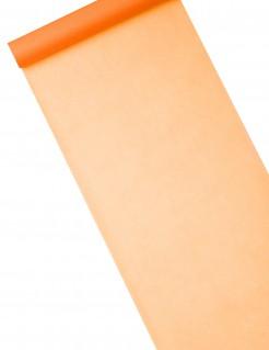 Schlichter Tischläufer Vlies orange 10m