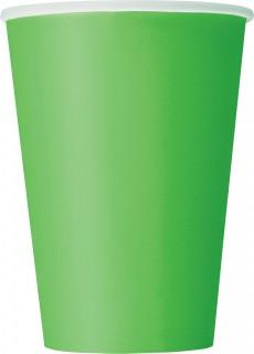 Party Pappbecher 10 Stück grün